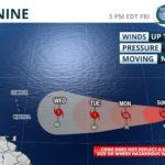 Tropical Depression Nine forms in Atlantic
