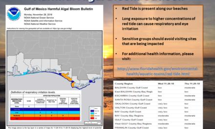 Gulf of Mexico Harmful Algal Bloom Forecast