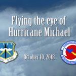 """Air Force """"Hurricane Hunters"""" Fly Eye of Hurricane Michael before landfall"""
